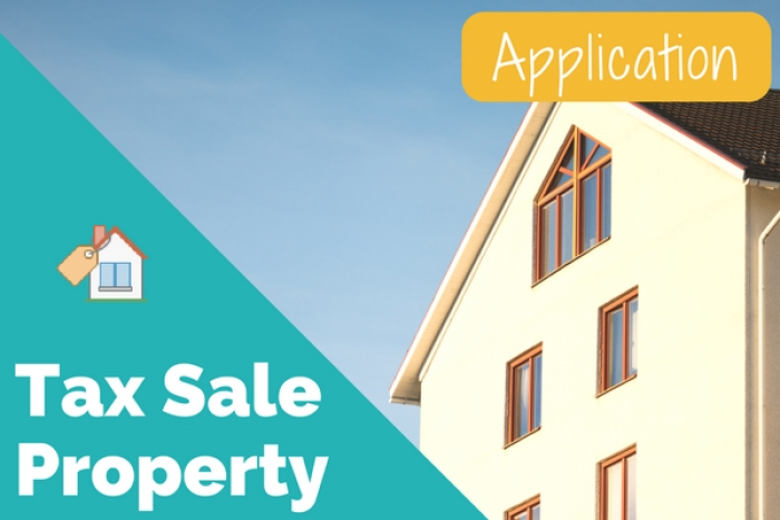 Tax Sale Property Application Now Available
