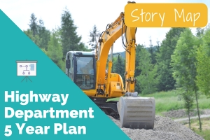 Five Year Highway Department Plan Now Available as an Online Map Series